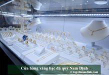 Cừa hàng vàng bạc đá quý Nam Định