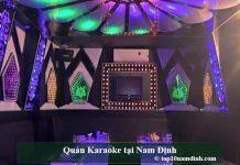 Quán karaoke tại Nam Định