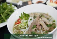 Quán phở Nam Định