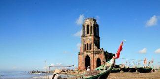 nhà thờ đổ Nam Định 1